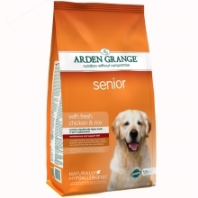 Arden Grange Dog Senior Fresh Chicken & Rice 12 kg