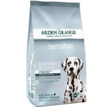 Arden Grange Dog Sensitive Ocean White Fish & Potato 6 kg