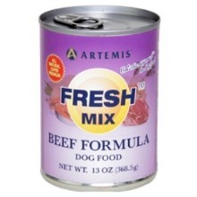Artemis Fresh Mix Beef Dog Can Food 370 g (1 ks)