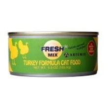 Artemis Fresh Mix Turkey Cat Can Food 156 g (1 ks)