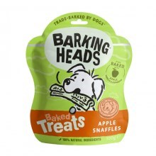 Barking Heads Baked Treats Apple Snaffles 100 g