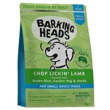 Barking Heads Chop Lickin' Lamb Small 4 kg