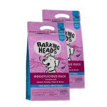 Barking Heads Doggylicious Duck Small Duo Pack 2 x 4 kg