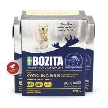 Bozita Naturals Big Chicken & Rice Tetra Pak 370 g