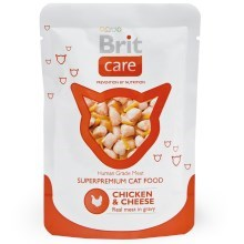 Brit Care Cat kapsička Chicken & Cheese 80 g