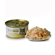 Brit Care Cat konzerva Chicken Breast & Cheese 80 g