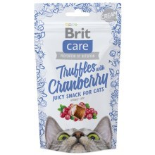 Brit Care Cat Snack Truffles Cranberry 50 g