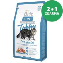 Brit Care Cat Tobby I´m a Large Cat 400 g 2+1 ZDARMA