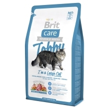 3x Brit Care Cat Tobby I´m a Large Cat 400 g