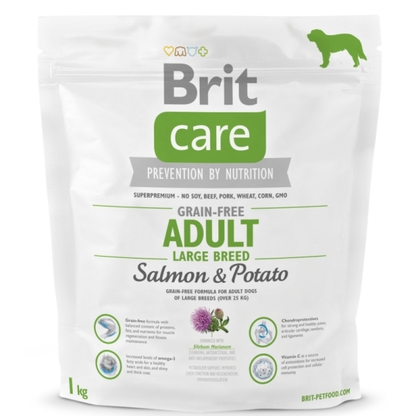 products canine adult grain free salmon potato