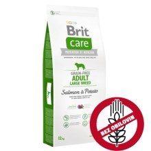 Brit Care Dog Grain-free Adult LB Salmon & Potato 12 kg