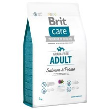 Brit Care Dog Grain-free Adult Salmon & Potato 3 kg