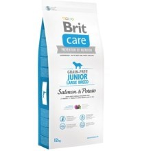 Brit Care Dog Grain-free Junior LB Salmon & Potato 12 kg