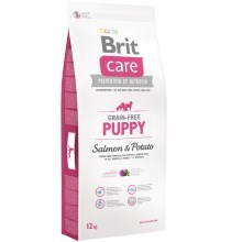 Brit Care Dog Grain-free Puppy Salmon & Potato 12 kg