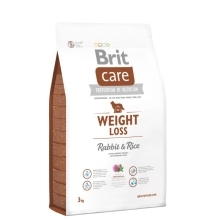 Brit Care Dog Weight Loss Rabbit & Rice 3 kg