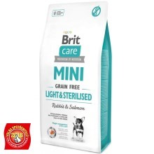 Brit Care Mini GF Light & Sterilised 400 g