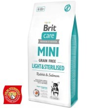 Brit Care Mini GF Light & Sterilised 7 kg