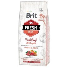 Brit Fresh Beef & Pumpkin Puppy Large Bones & Joints 12 kg