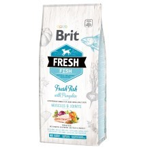 Brit Fresh Fish & Pumpkin Adult Large Muscle & Joints 12 kg