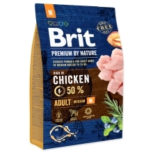 Brit Premium by Nature Adult M 3 kg