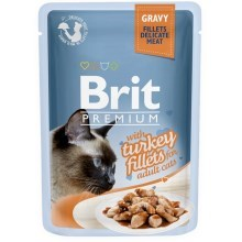 Brit Premium Cat Fillets in Gravy with Turkey 85 g