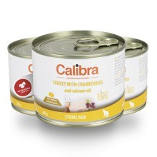 Calibra Cat konzerva Sterilised krůta 200 g
