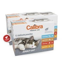 Calibra Cat Multipack kapsiček Adult 12 ks