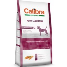 Calibra Dog GF Adult Large Breed Salmon 12 kg