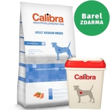 Calibra Dog HA Adult Medium Breed Chicken 14 kg