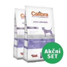 Calibra Dog HA Junior Large Breed Lamb Duo Pack 2 x 14 kg