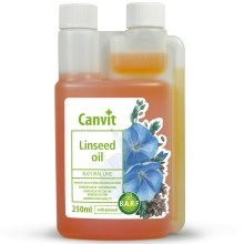 Canvit Natural Line Linseed Oil - lněný olej 250 ml