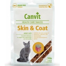 Canvit Snacks Cat Skin & Coat 100 g