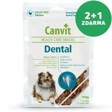 Canvit Snacks Dental 200 g 2+1 ZDARMA