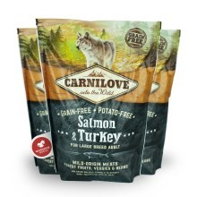 Carnilove Adult Dog Large Breed Salmon & Turkey 1,5 kg