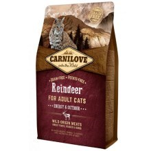 Carnilove Cat Reindeer for Adult Energy&Outdoor 6 kg