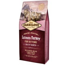 Carnilove Cat Salmon & Turkey for Kittens HG 400 g