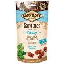 Carnilove Cat Semi Moist Snack Sardine with Parsley 50 g