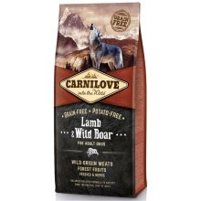 Carnilove Dog Lamb&Wild Boar for Adult 12 kg