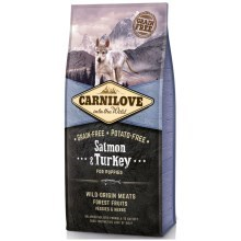 Carnilove Dog Salmon & Turkey for Puppies 12 kg