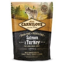 Carnilove Dog Salmon&Turkey for LB Adult 1,5 kg