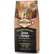 Carnilove Dog Salmon&Turkey for LB Puppies 12 kg
