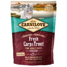 Carnilove Fresh Cat Carp & Trout Sterilised 400 g