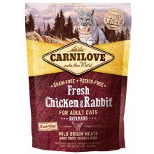 Carnilove Fresh Cat Chicken & Rabbit Gourmand 400 g
