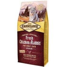 Carnilove Fresh Cat Chicken & Rabbit Gourmand 6 kg