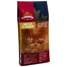 Chicopee Adult Cat 3- Flavour (Gourmet) 15 kg