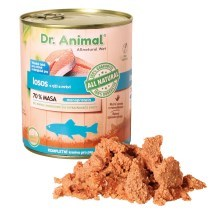 Dr. Animal konzerva losos 850 g