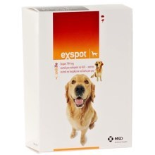Exspot spot on 2x1ml MSD Animal Health