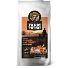 Farm Fresh GF Chicken & Turkey Active/Puppy 15 kg