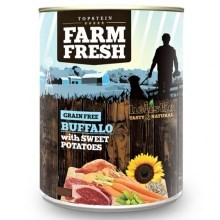 Farm Fresh konzerva Buffalo & Sweet Potatoes 800 g
