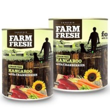 Farm Fresh konzerva Kangaroo & Cranberries 800 g